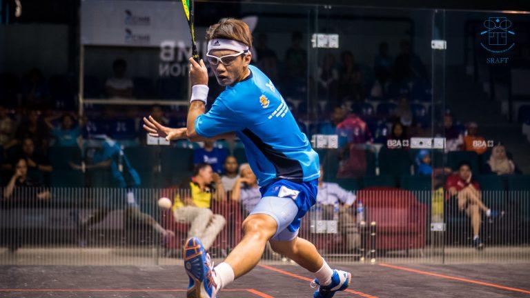 Ex-junior player's love for squash not quashed