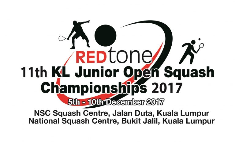 REDtone 11th KL Junior Open Squash Championships 2017 Draws