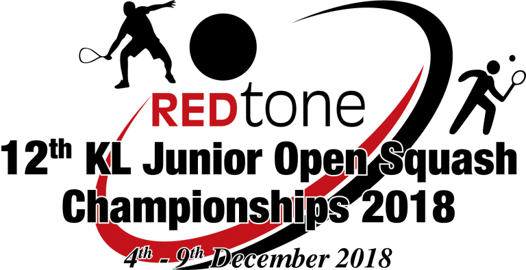 REDtone 12th KL Junior Open Squash Championships 2018