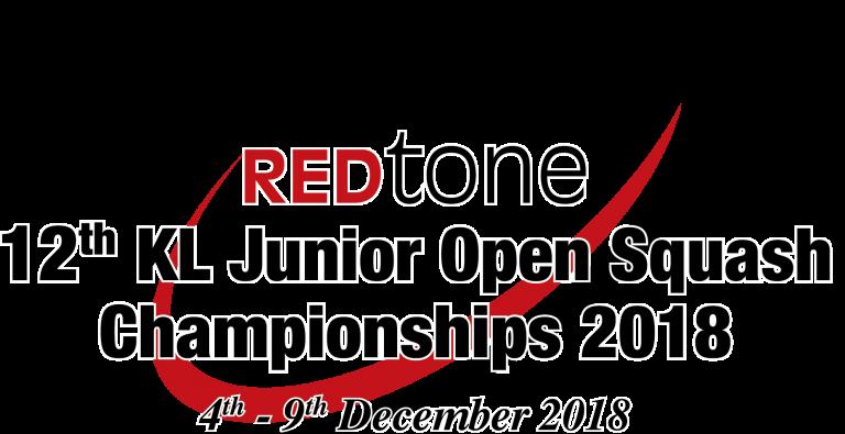 REDtone 12th KL Junior Open Squash Championships 2018