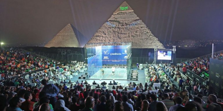 2019-2020 CIB PSA WOMEN'S WORLD CHAMPIONSHIP TO TAKE PLACE IN FRONT OF GREAT PYRAMID OF GIZA