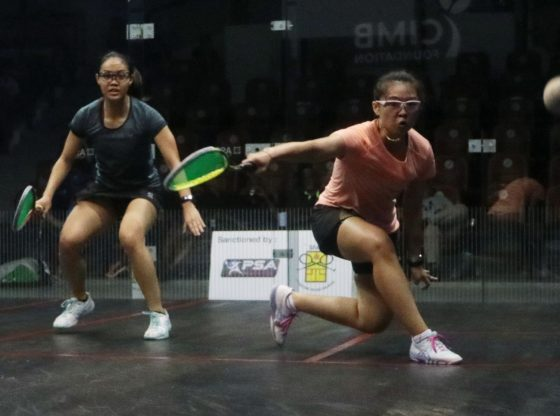 Yiwen and Ainaa seeking first PSA win on home ground