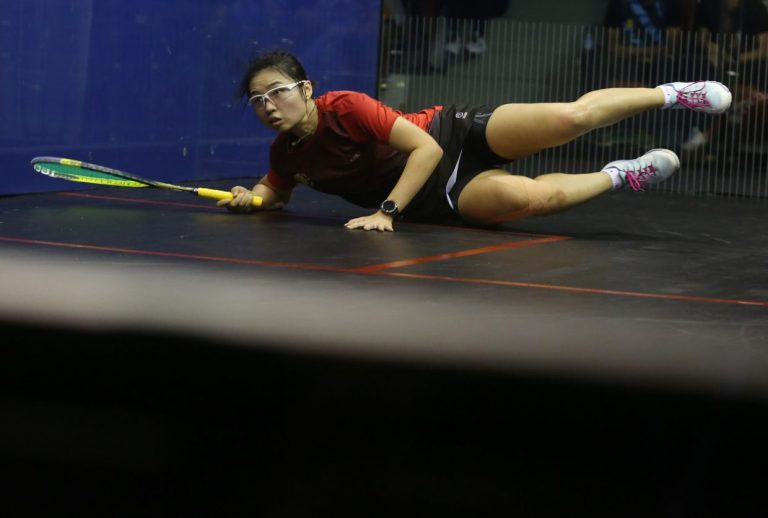 Yiwen goes from bronze medal winner to rank underdog