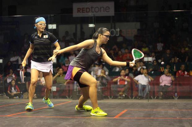 Power girl Andrea shines for FT in Sukma