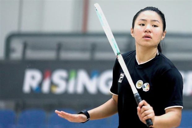 Andrea puts frustration aside to focus on team event