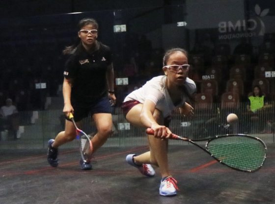 First time semi-finalists Ainaa and Amirah lead Malaysian charge